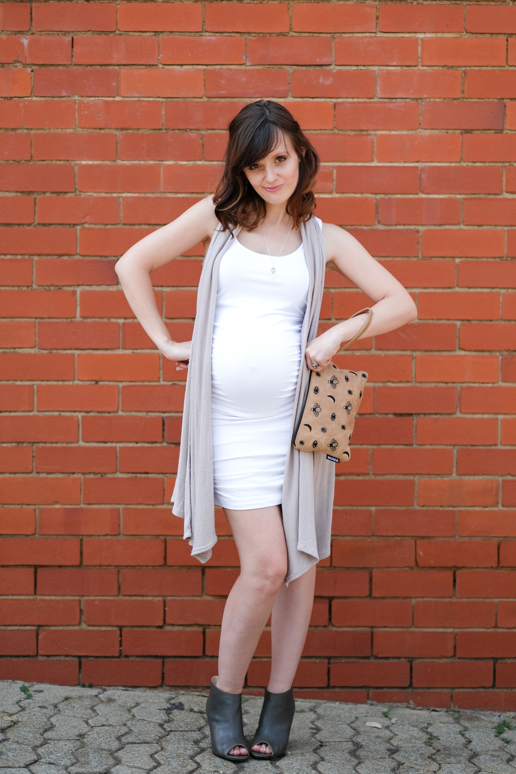 Ruche Top / Dress, Style the bump: Yummy Mummy Maternity Ruche Top / Dress