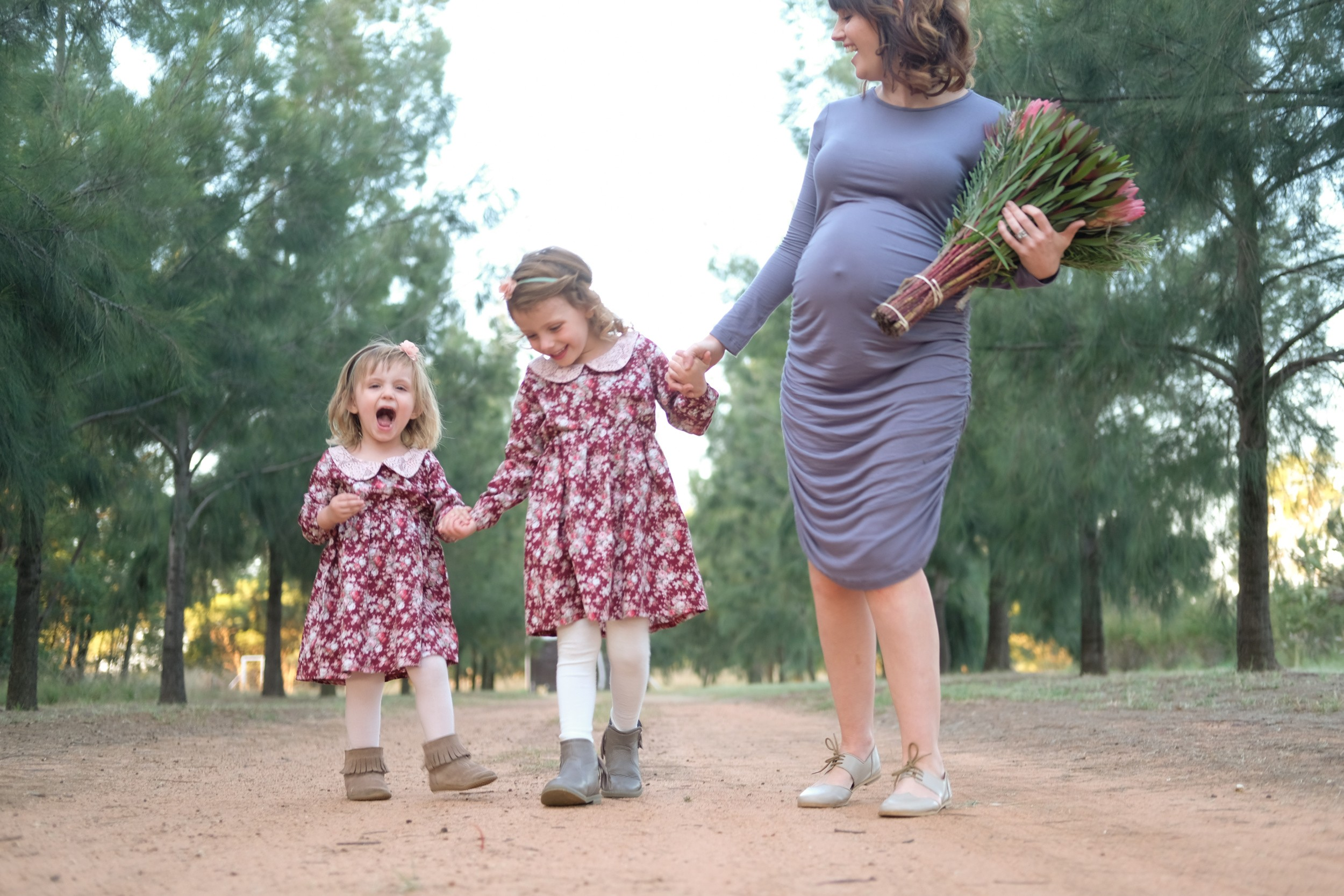 Fall fashion, Feminine fall fashion for Mama and Mini