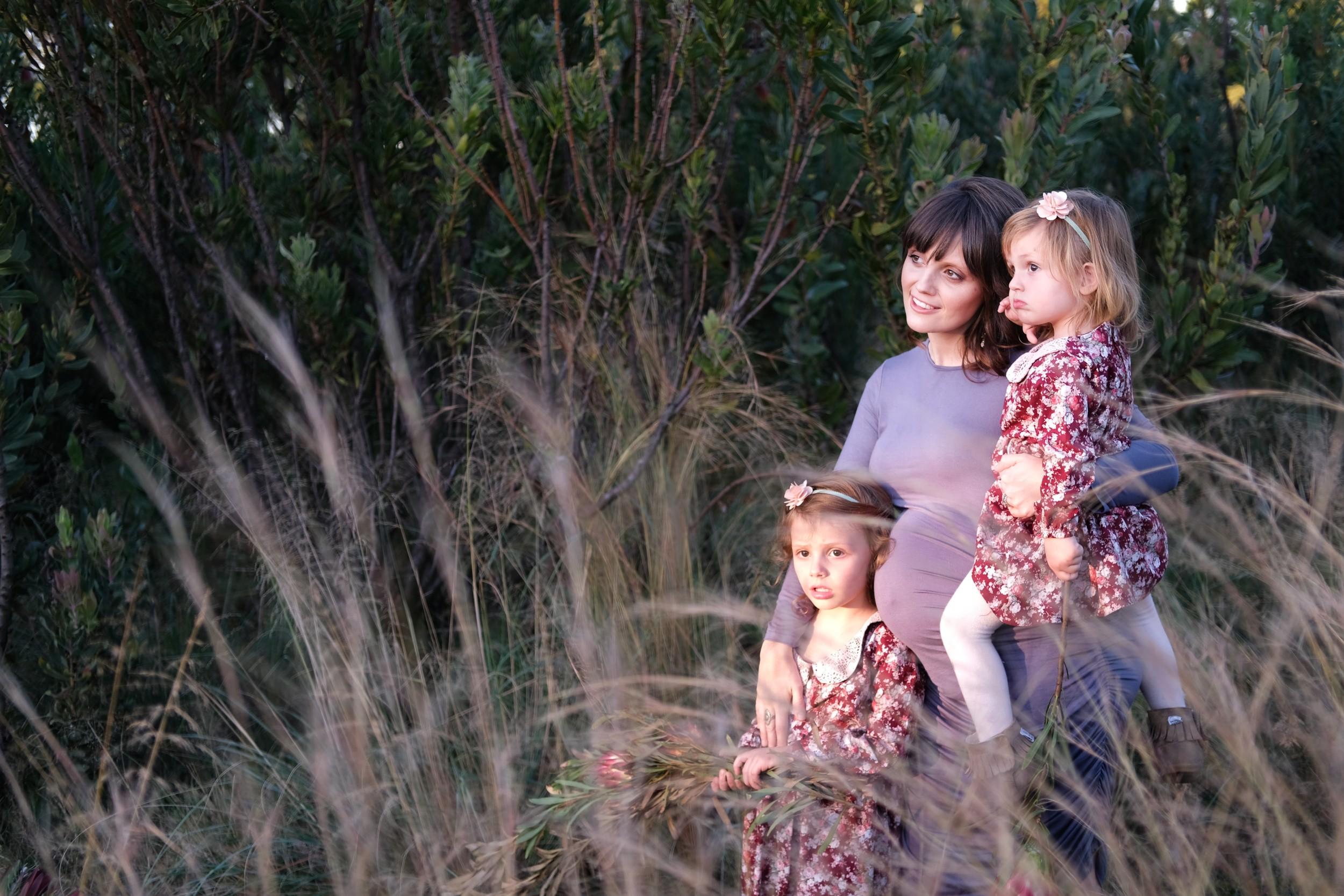 Feminine fall fashion for Mama and Mini