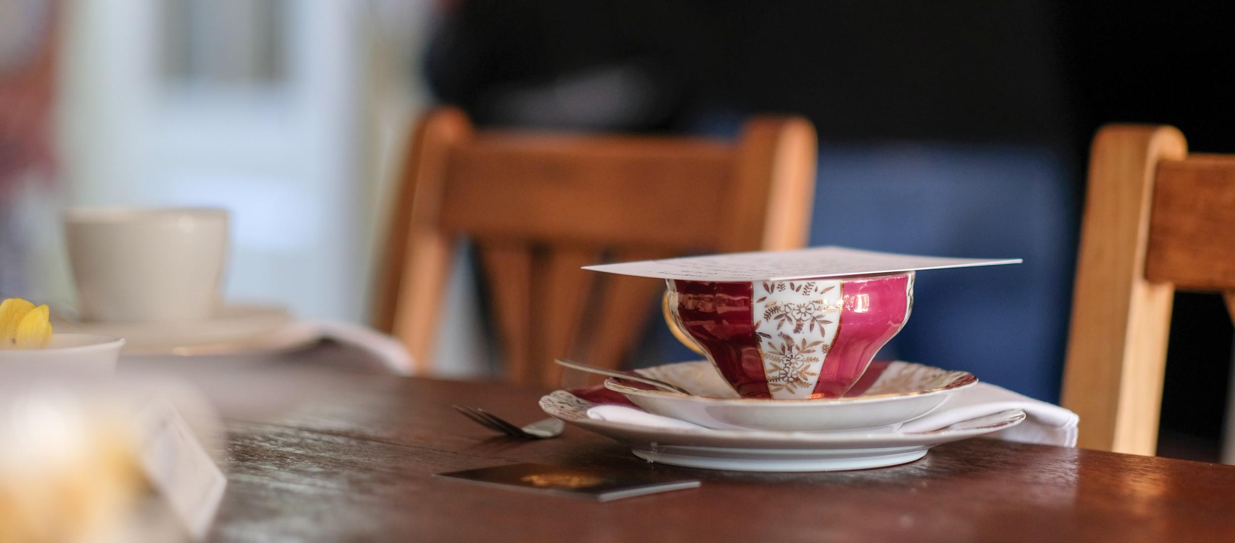 The Mamma Collaborative: Autumn tea tasting
