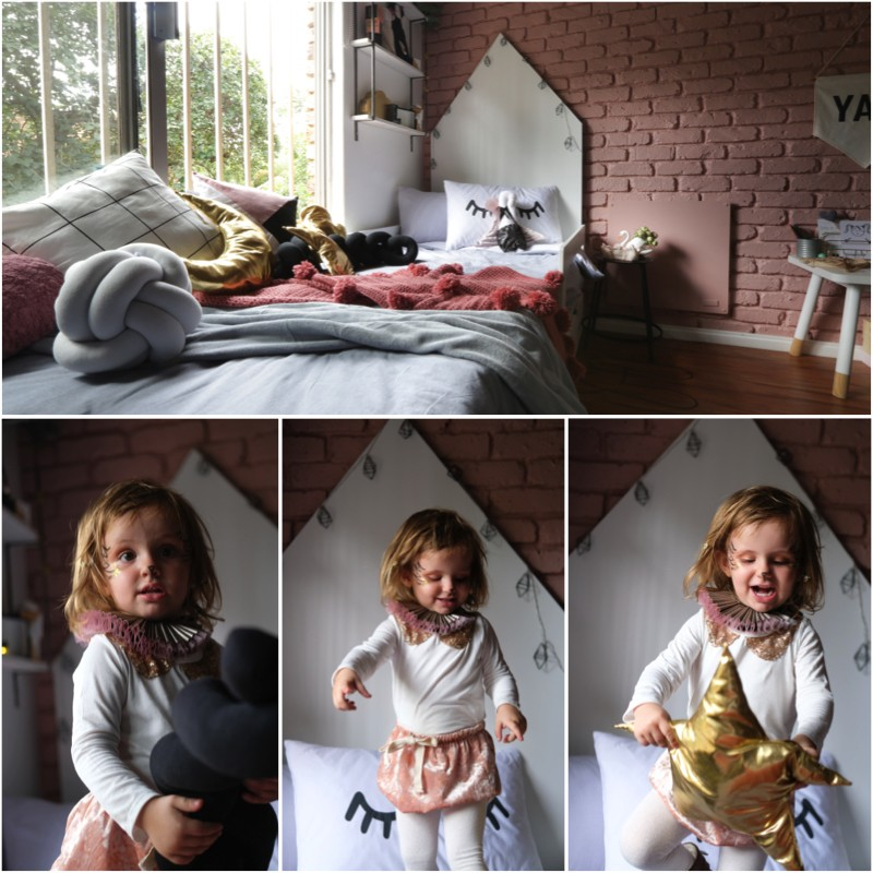 Toddler bedroom, A Room to Share: Swan inspired Toddler Bedroom.