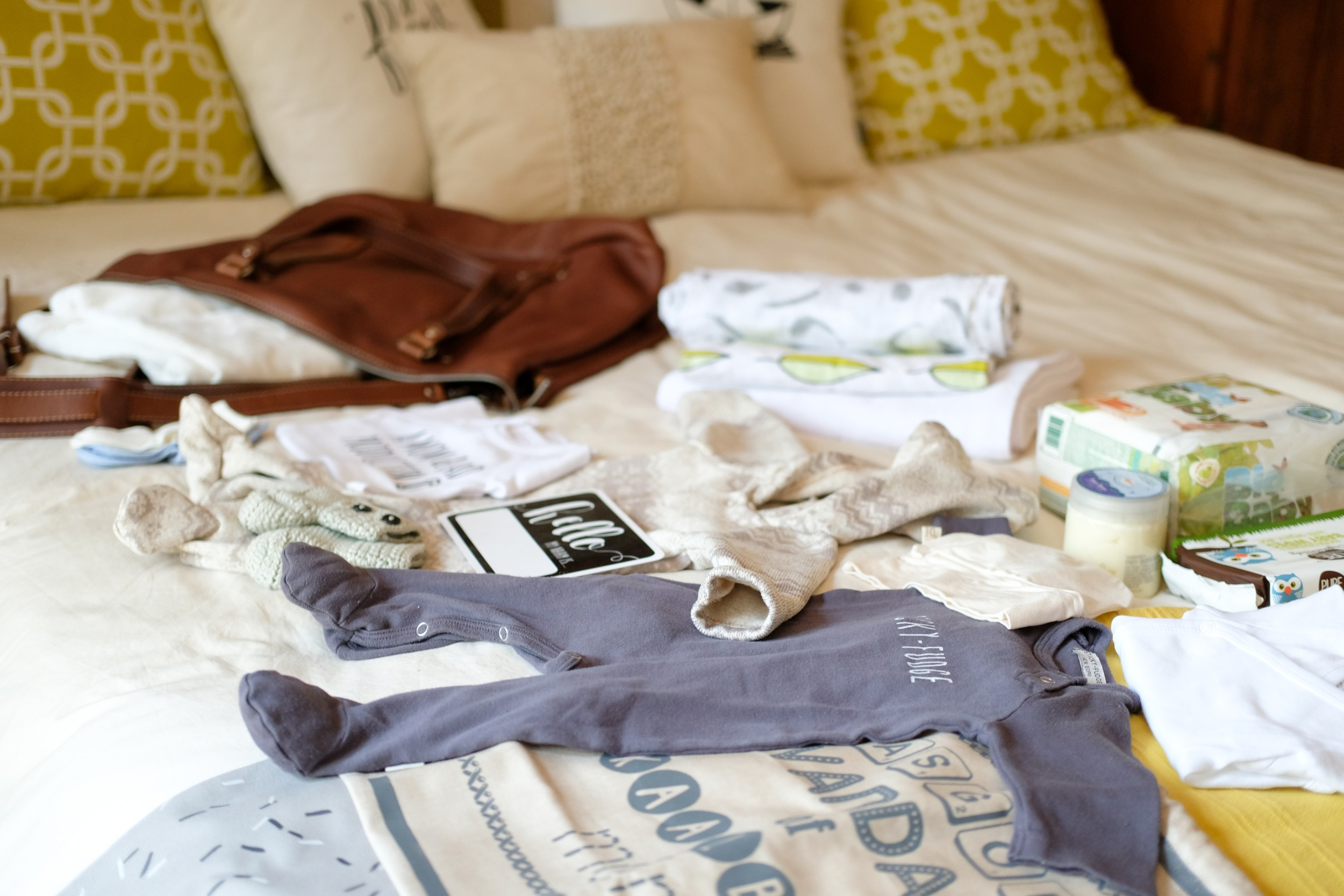 What's in the Bag: Hospital Bag for Baby.