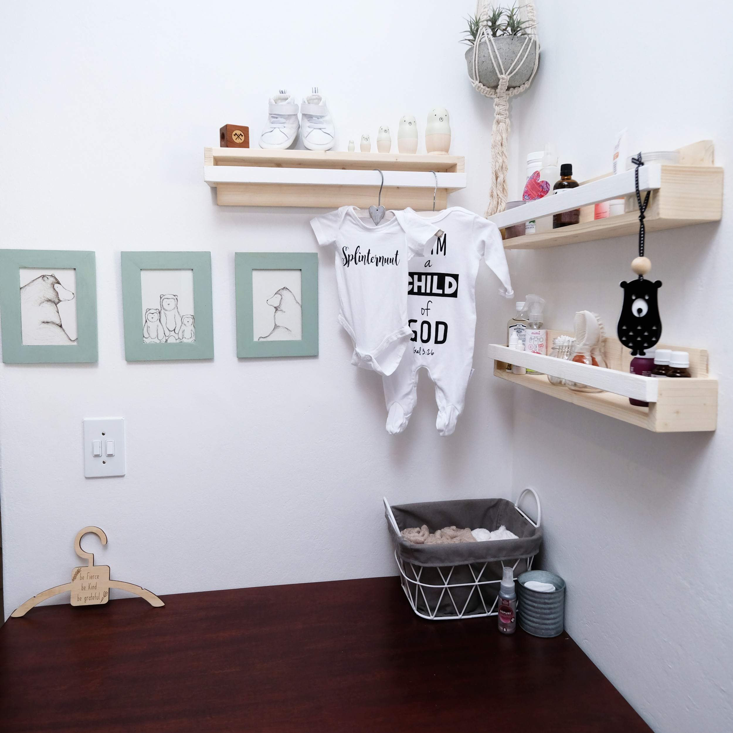 Changing Station, Cloth Diapers 101: Changing Station set-up