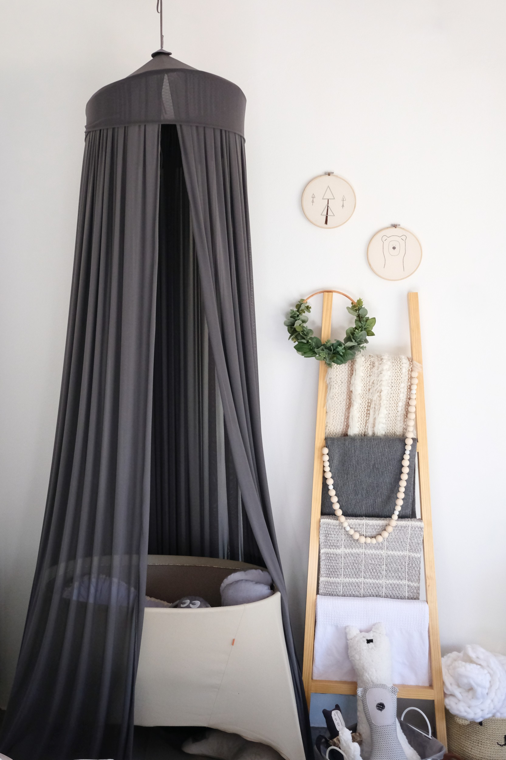 hygge master bedroom, A Room To Share: Hygge Master Bedroom and Baby Nook.