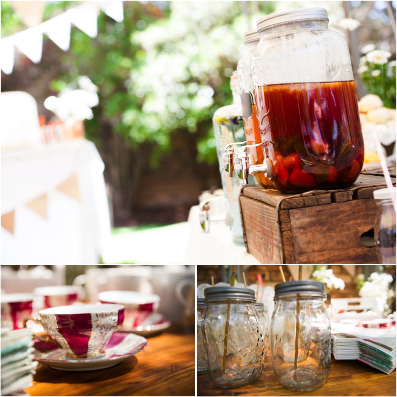 Tea for 2, A tea for 2: Lia's garden Tea party.