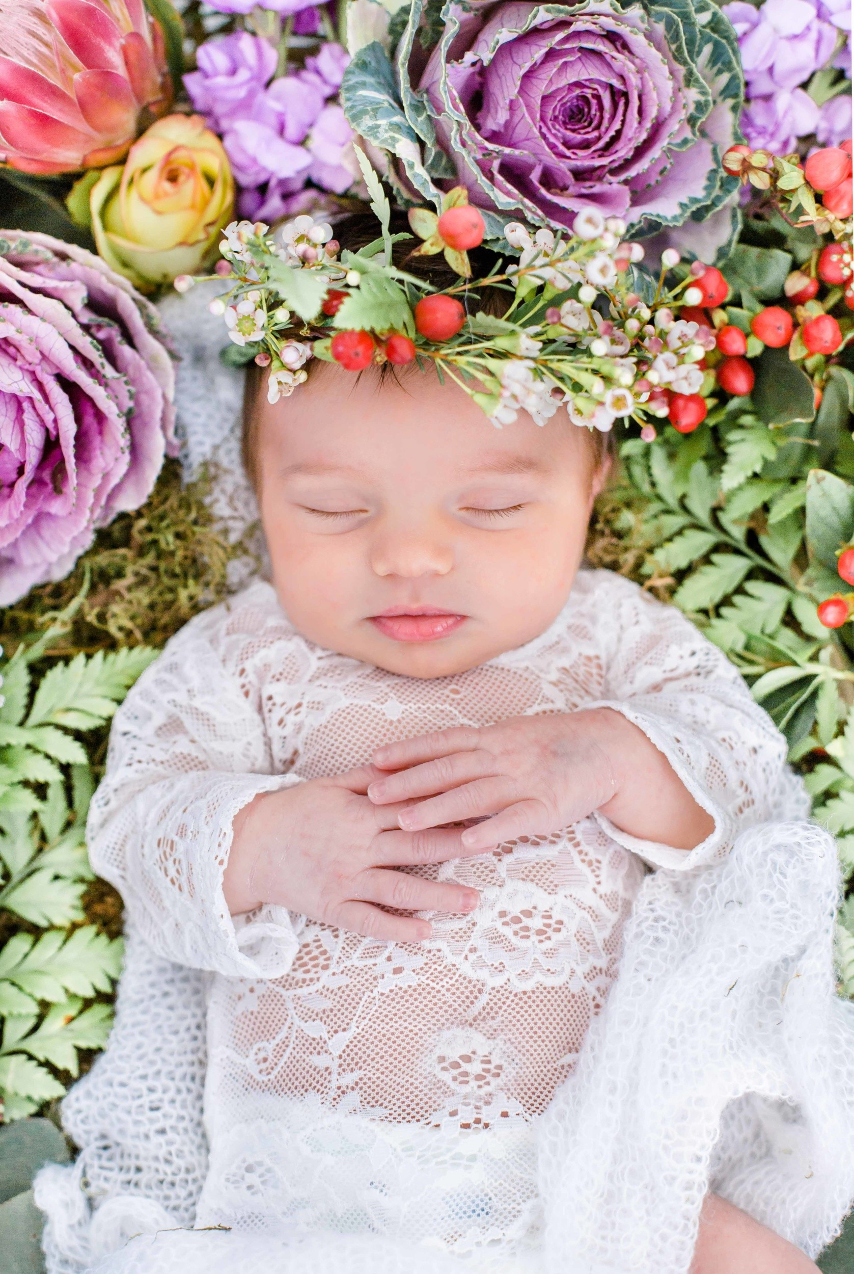Velani Venter, Magical floral Newborn Photoshoot by Velani Venter