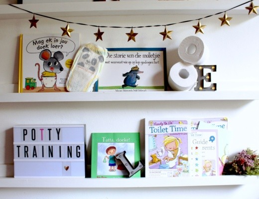Just a Mamma Bookclub Potty training cover