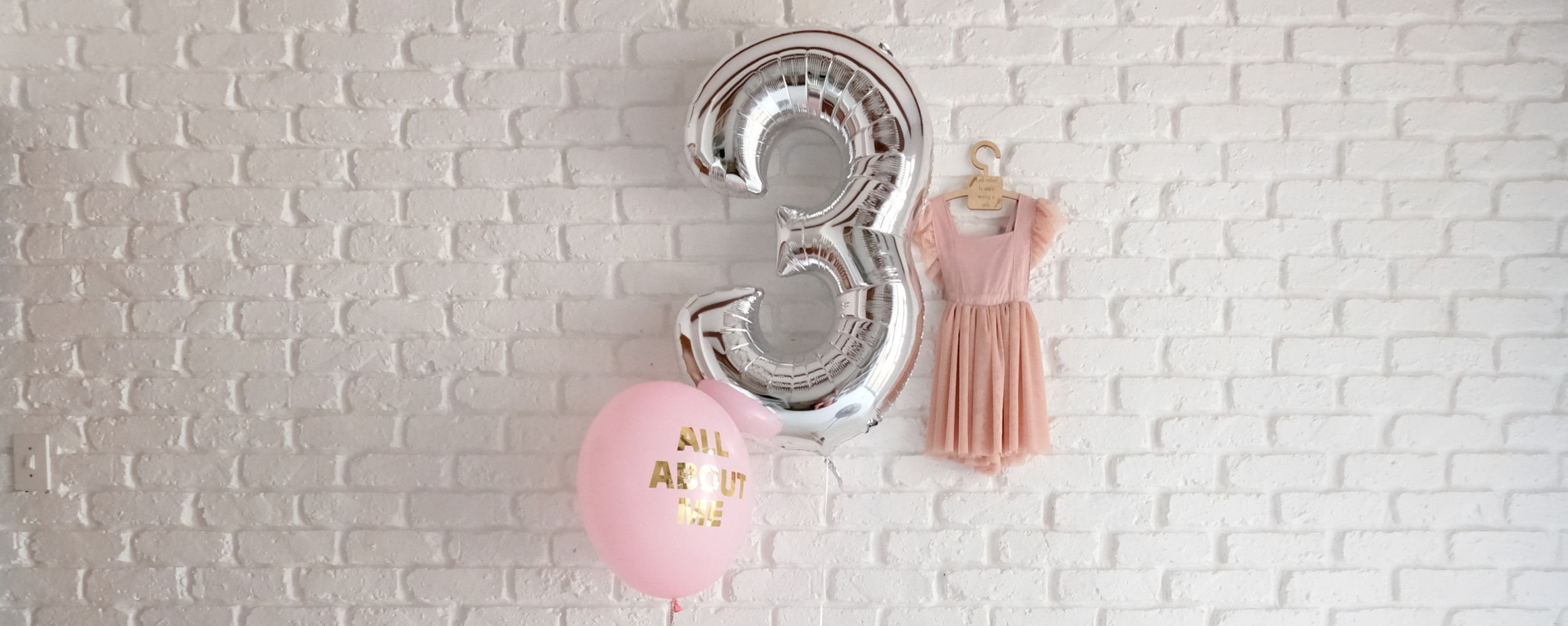 Turning 3 and it's all about me!