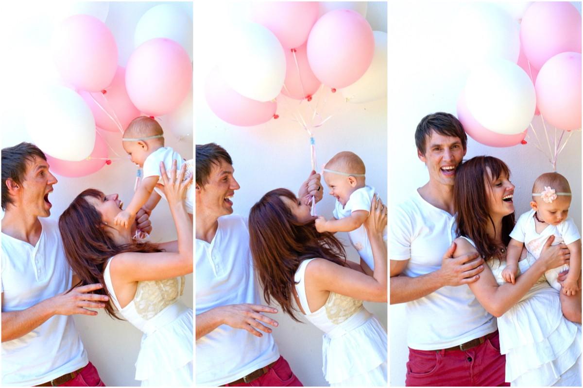 DIY Pink Party 1st Birthday Celebration
