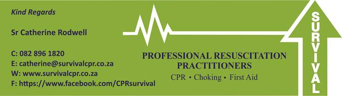 Survival CPR contact info