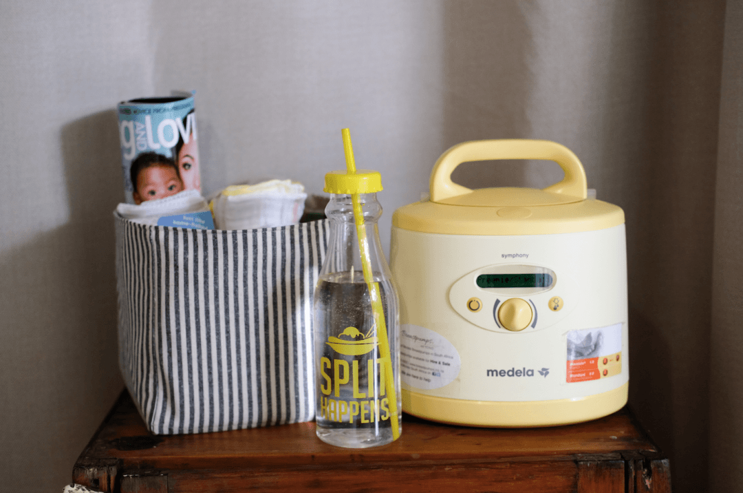 JustaMamma Medela Breasmilk pumping station set up FB Cover