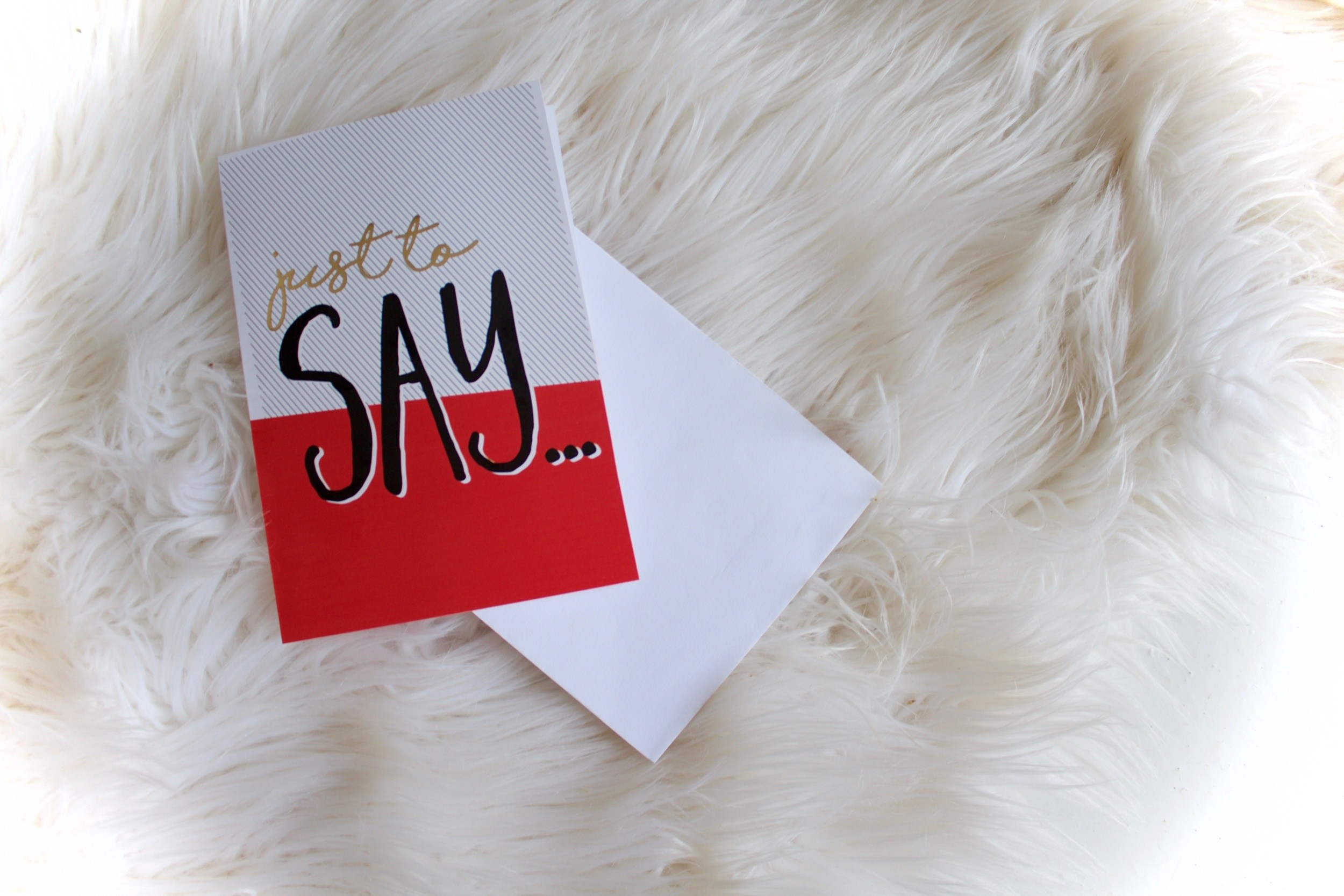 JustaMamma Valentines Day gift ideas love card