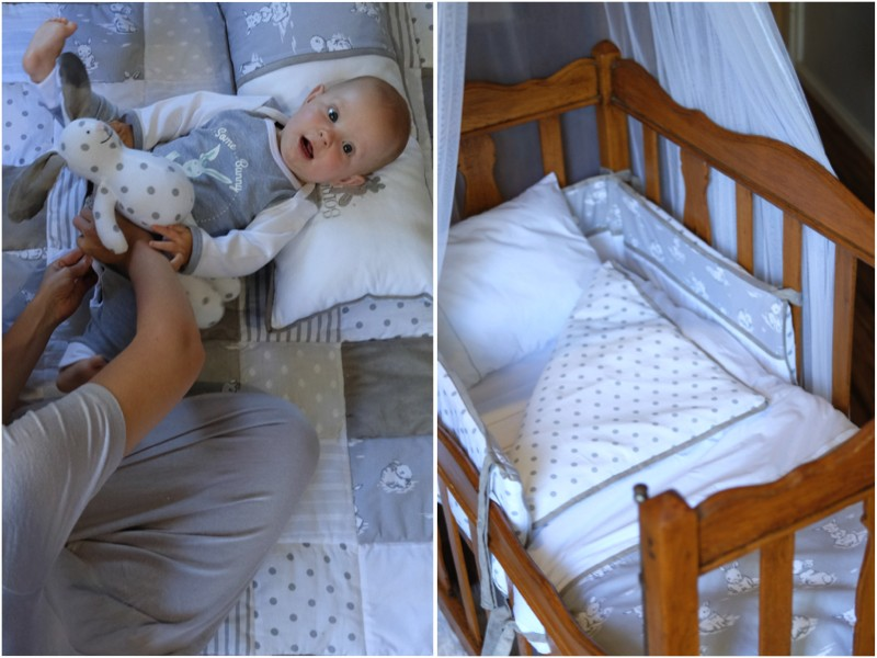 JustaMamma Sleeping and bedtime routine essentials baby bedding