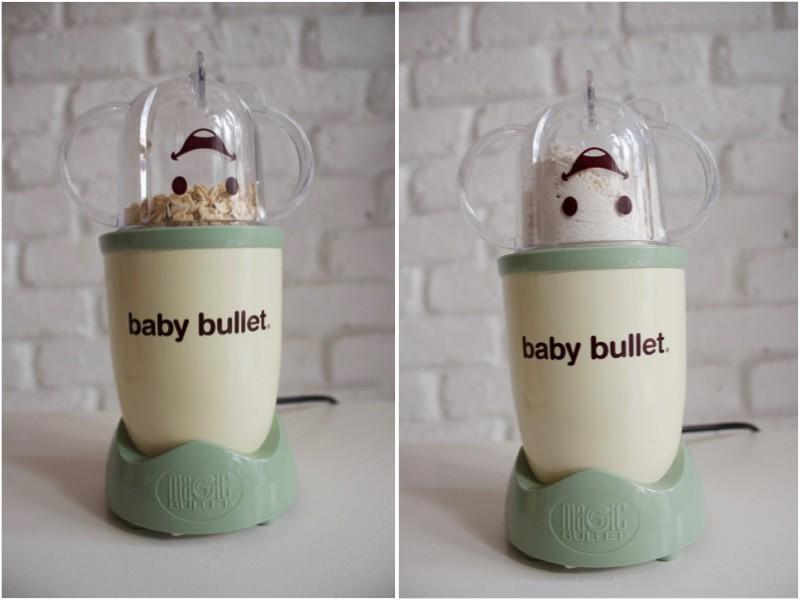 JustaMamma Homemade baby food Baby Bullet