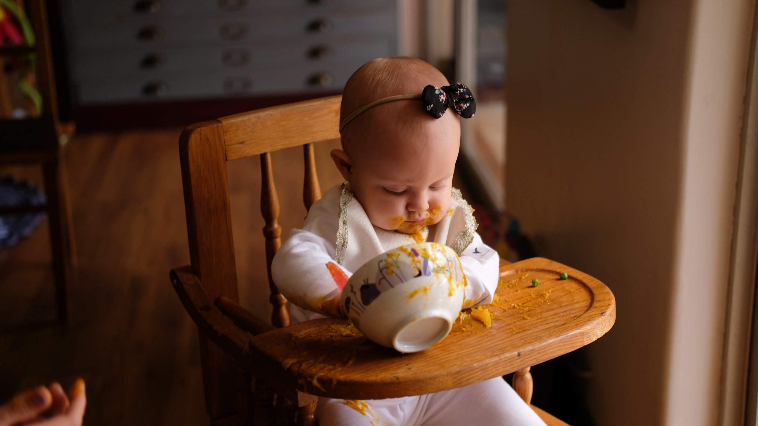 #momming101: Introducing solids. Everything about baby's 1st year!