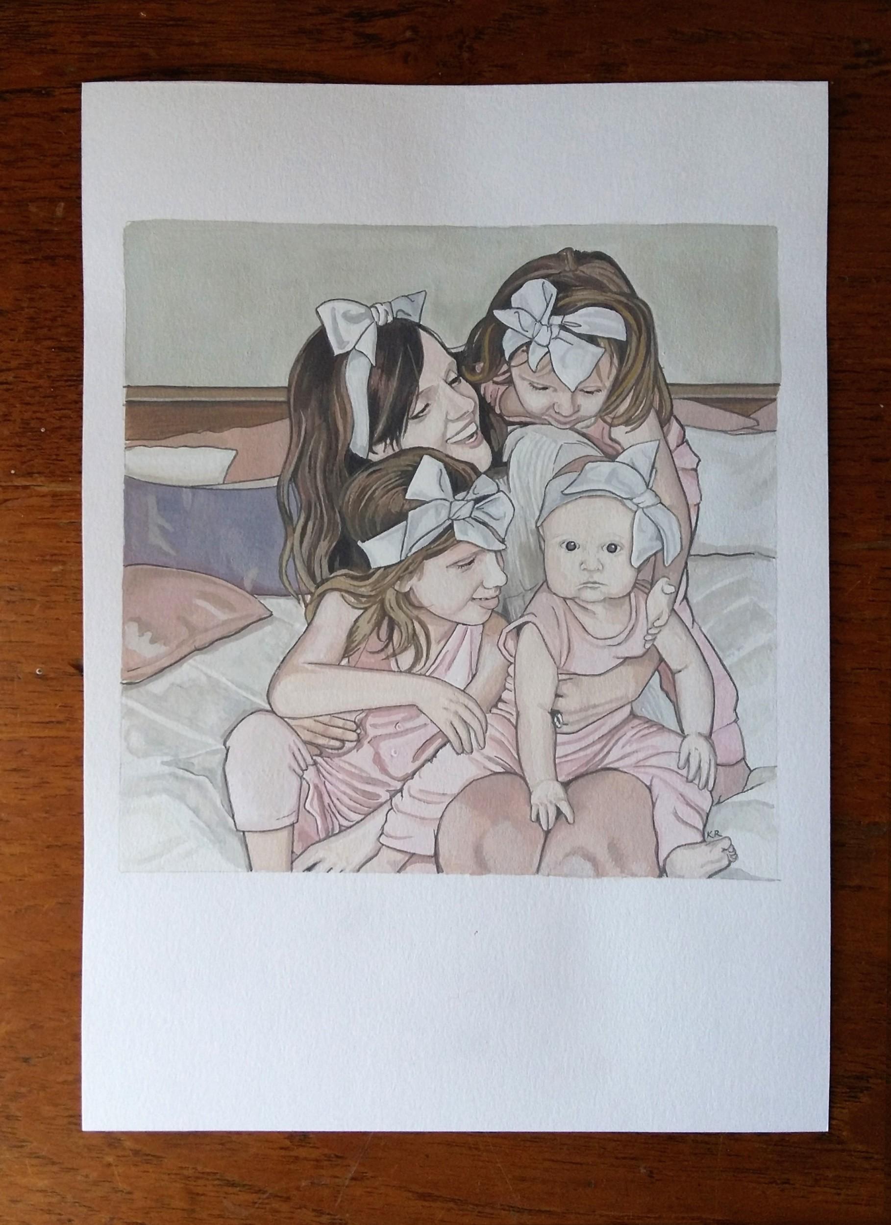 JustaMamma Kim Rose Little Rose Collection Motherhood Series