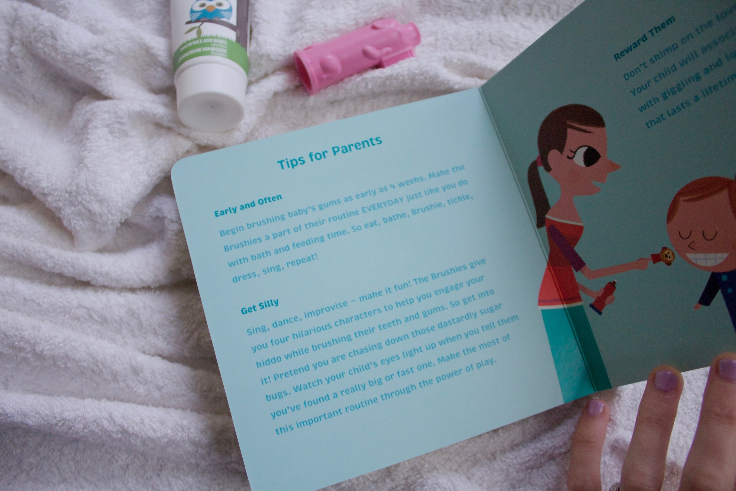 JustaMamma The Brushies book review