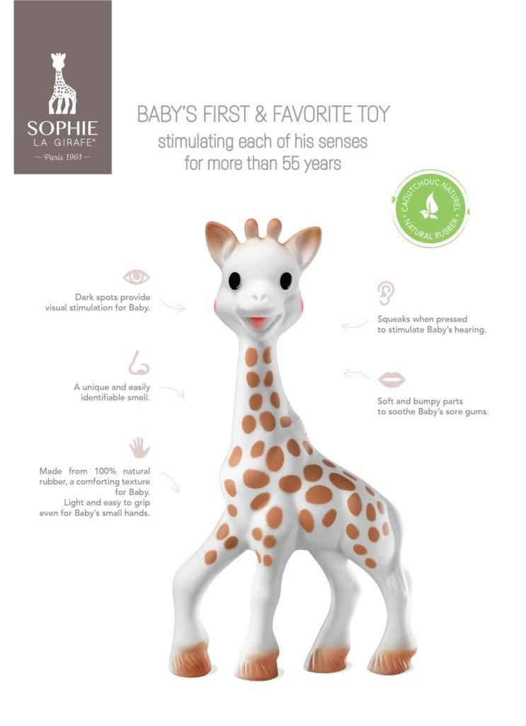Just a Mamma Sophia la Girafe