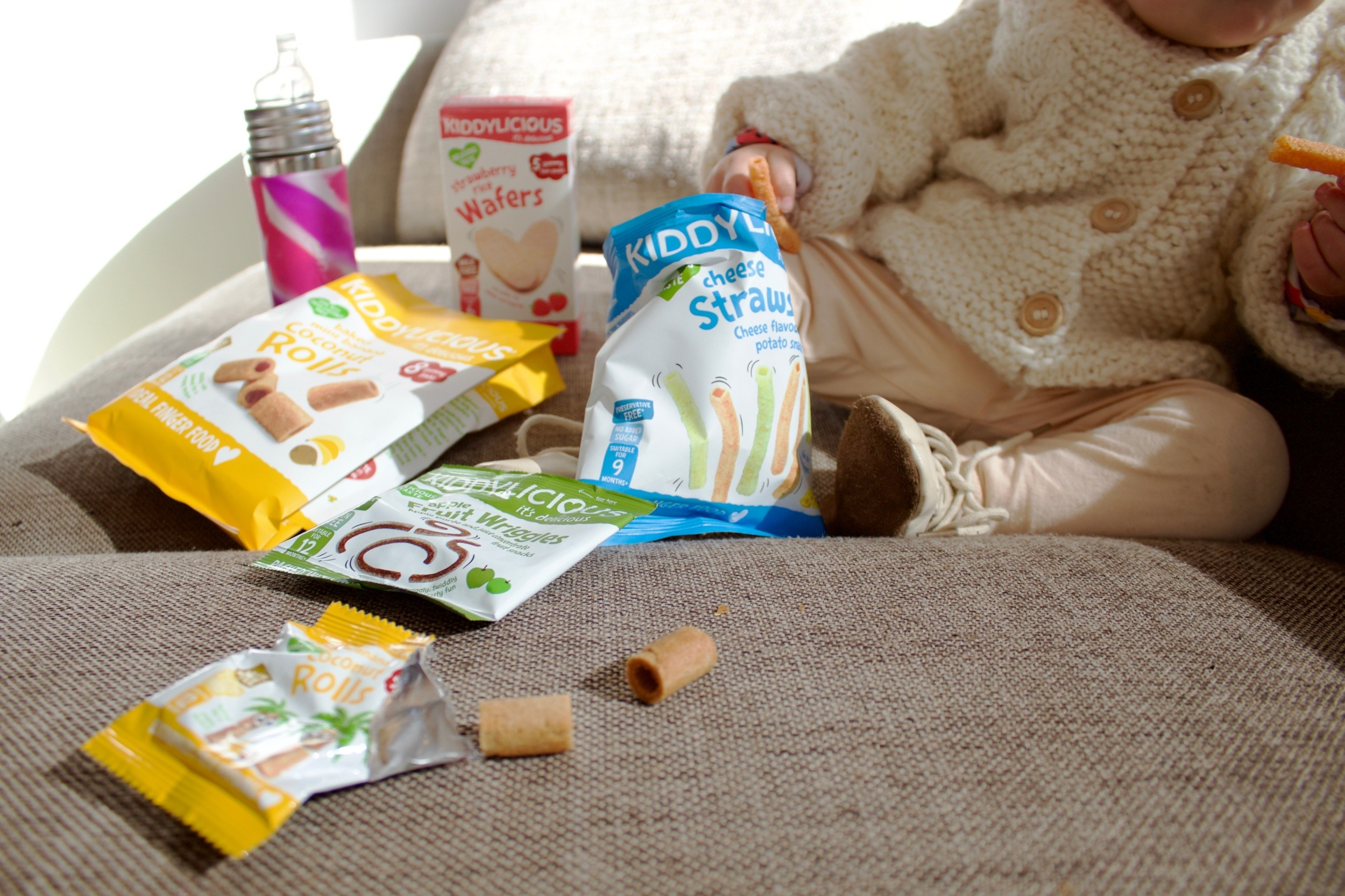 Kiddylicious: Perfect on the go kids snacks