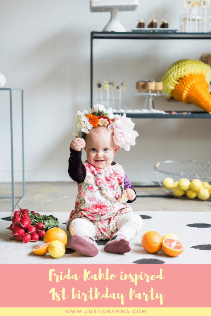 Just a Mamma Frida Kahlo inspired 1st birthday party