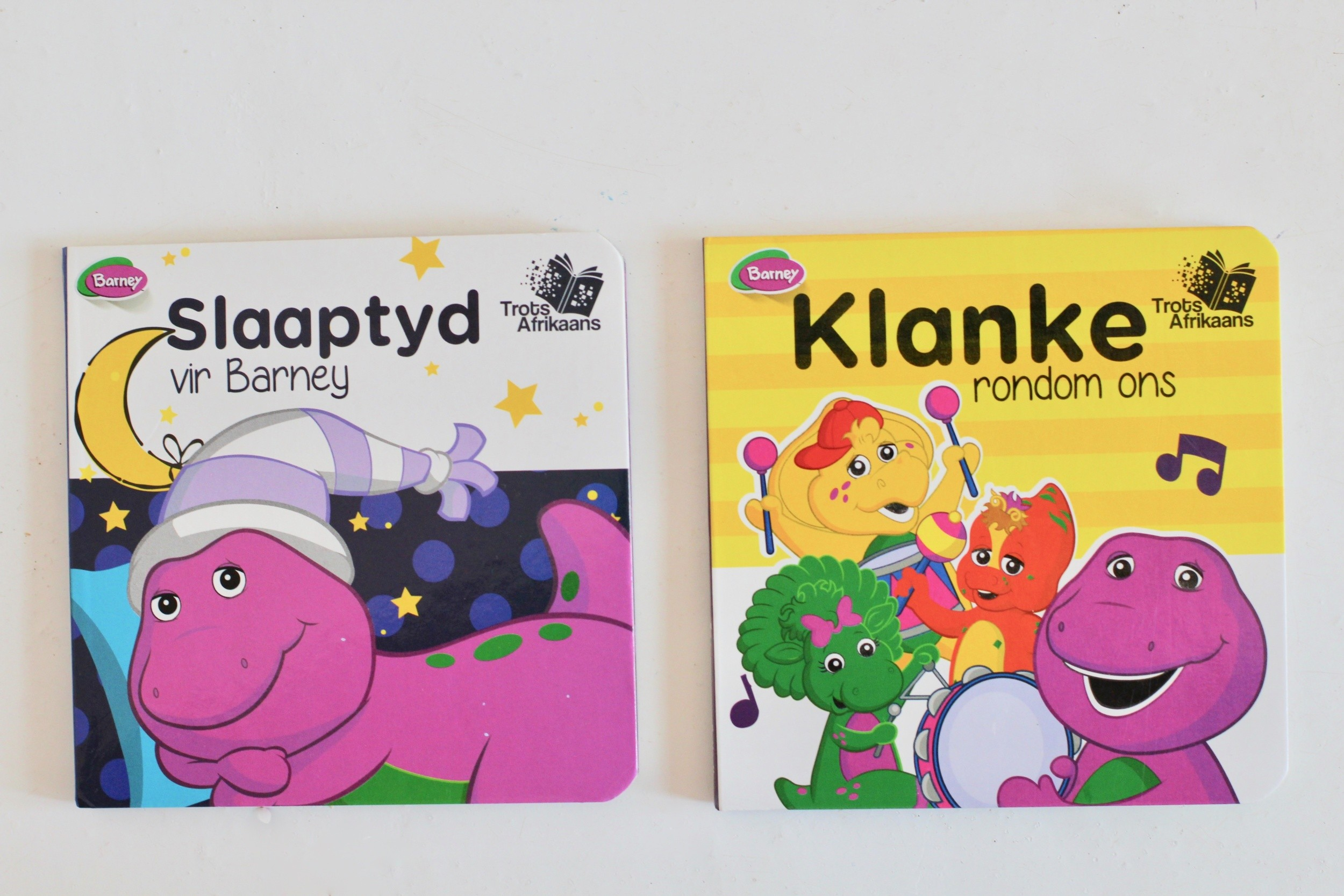 Just a Mamma Barney Board Books