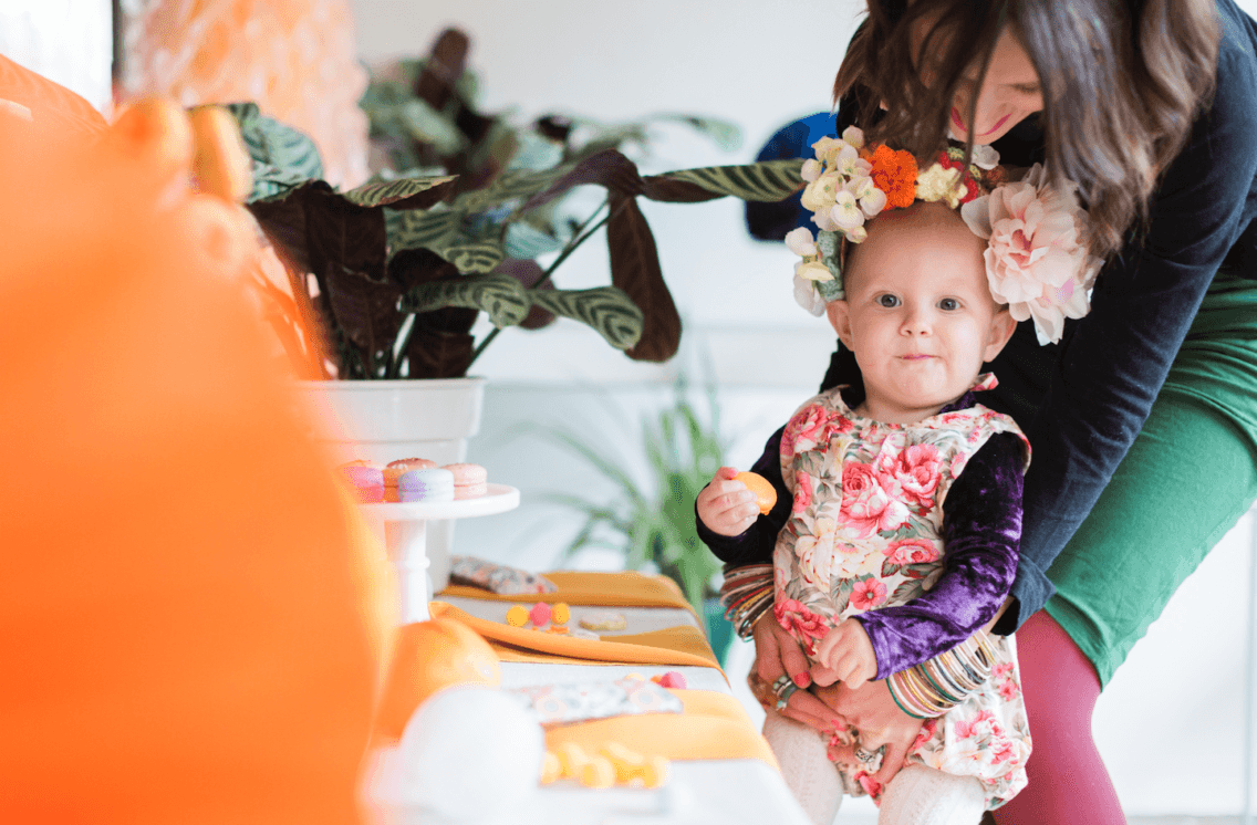 Ava's Frida Kahlo inspired 1st birthday fiesta!