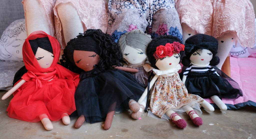 Just a Mamma Kara Kenya dolls 1