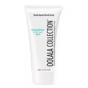 oolala collection gentle apricot kernel scrub