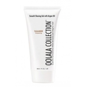 oolala collection smooth shaving gel with argan oil