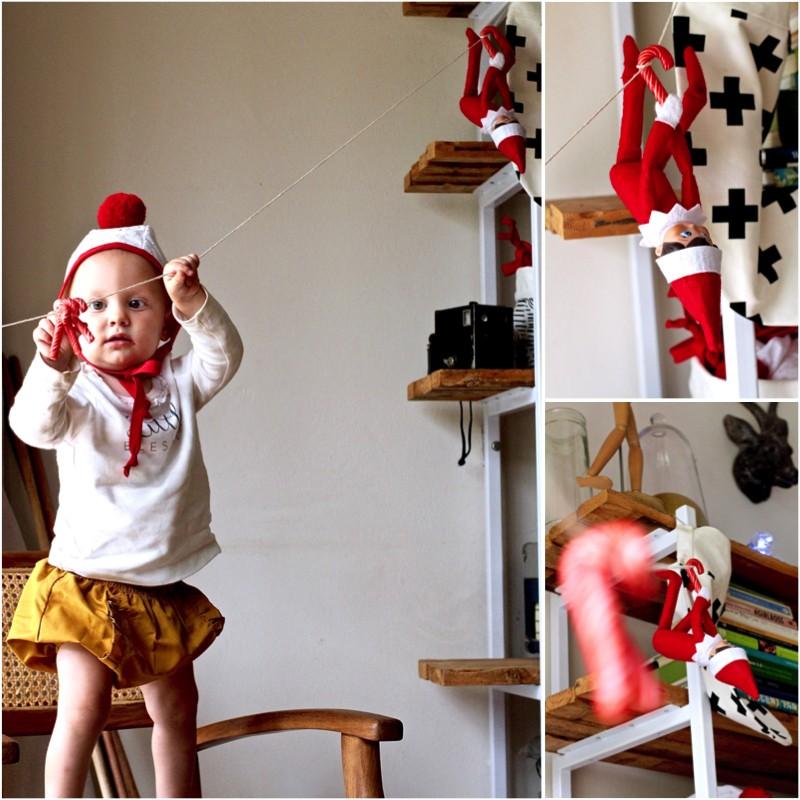 Just a Mamma Elf on the Shelf ideas 2