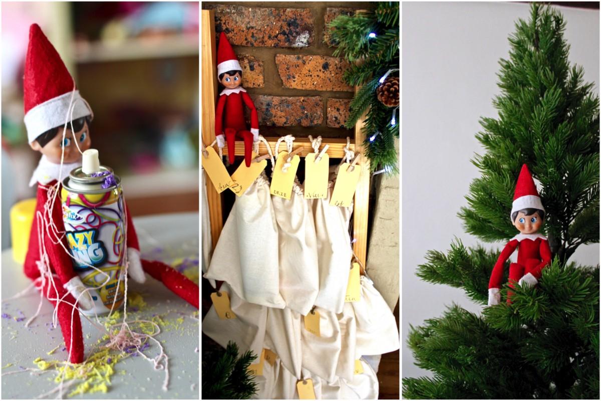 Just a Mamma Elf on the Shelf ideas 6