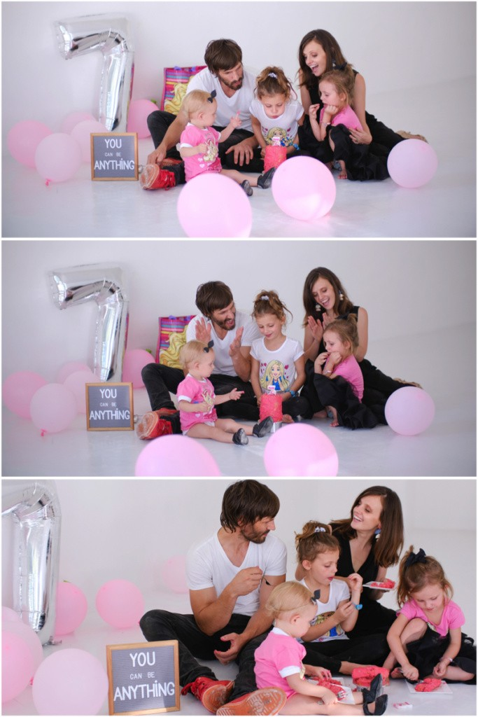 Just a Mamma Barbie birthday photoshoot