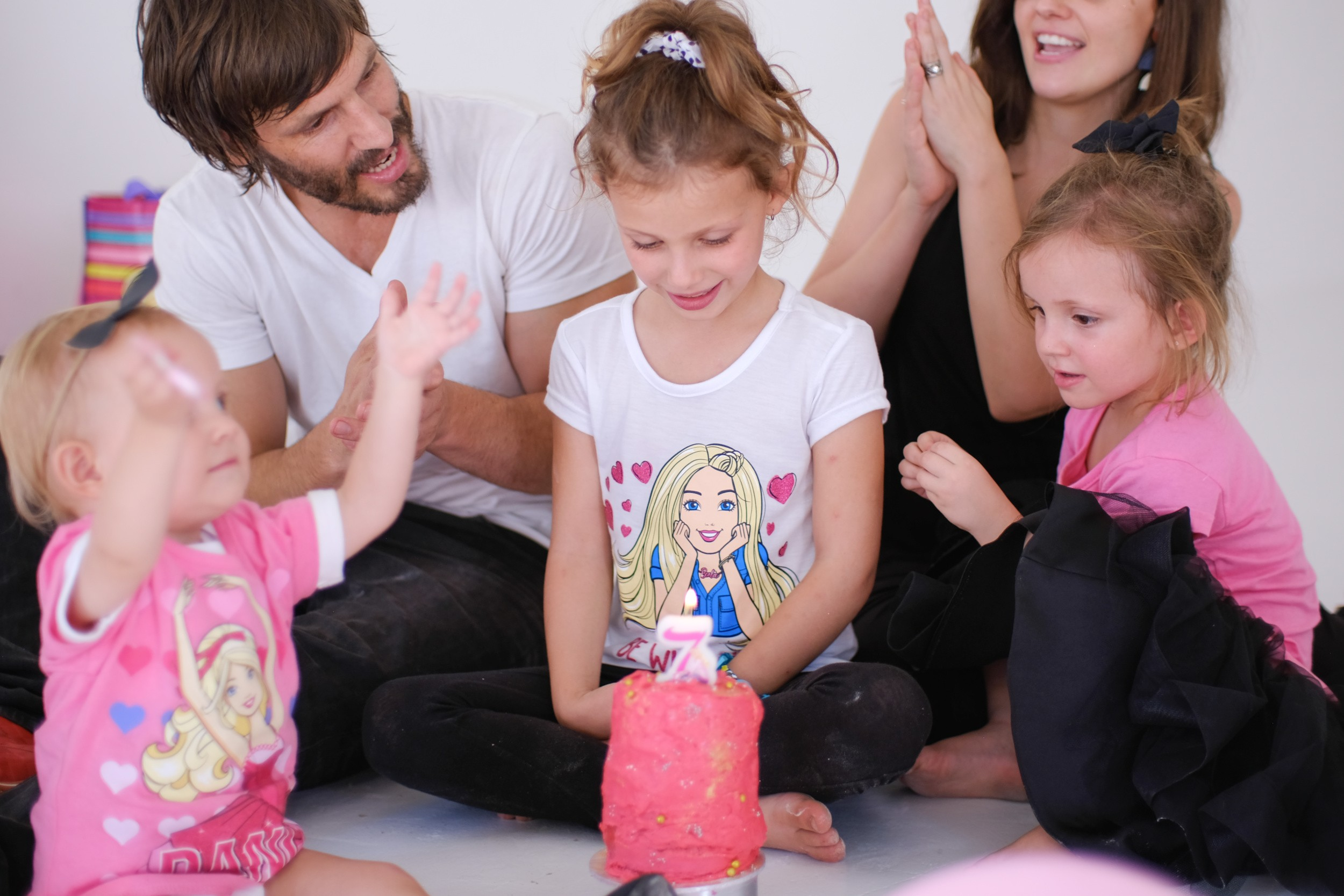 You can be Anything: Eliana's Barbie Birthday photoshoot