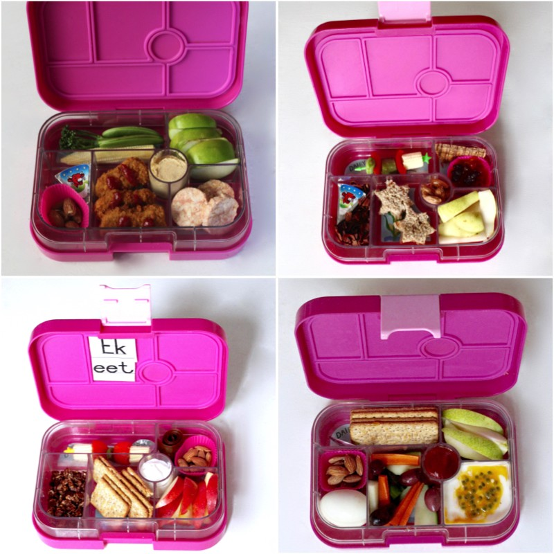 Just a Mamma Healthy lunchbox finger food