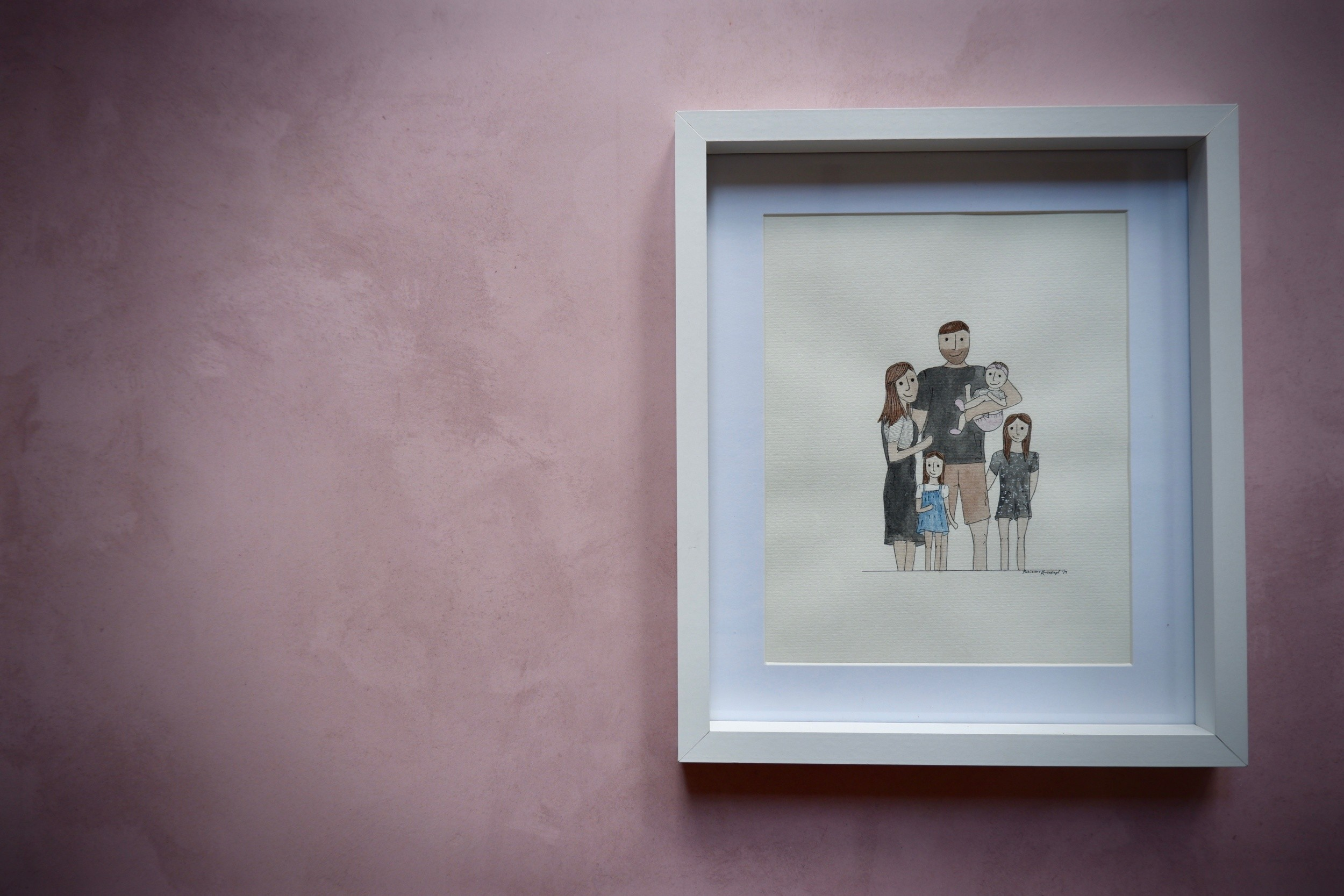 Have a family portrait done by Puli Prints