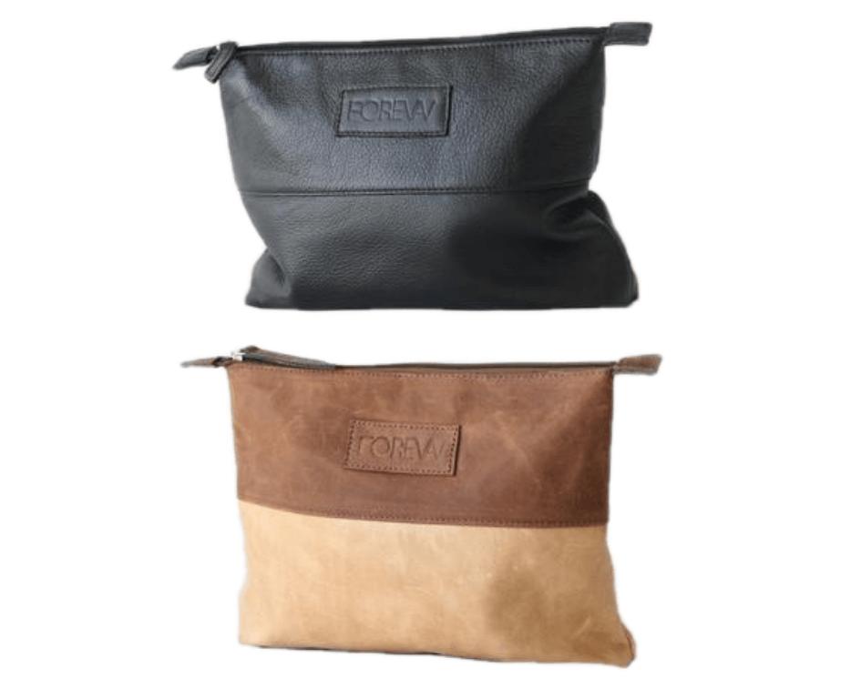 Leather-Diaper-clutch