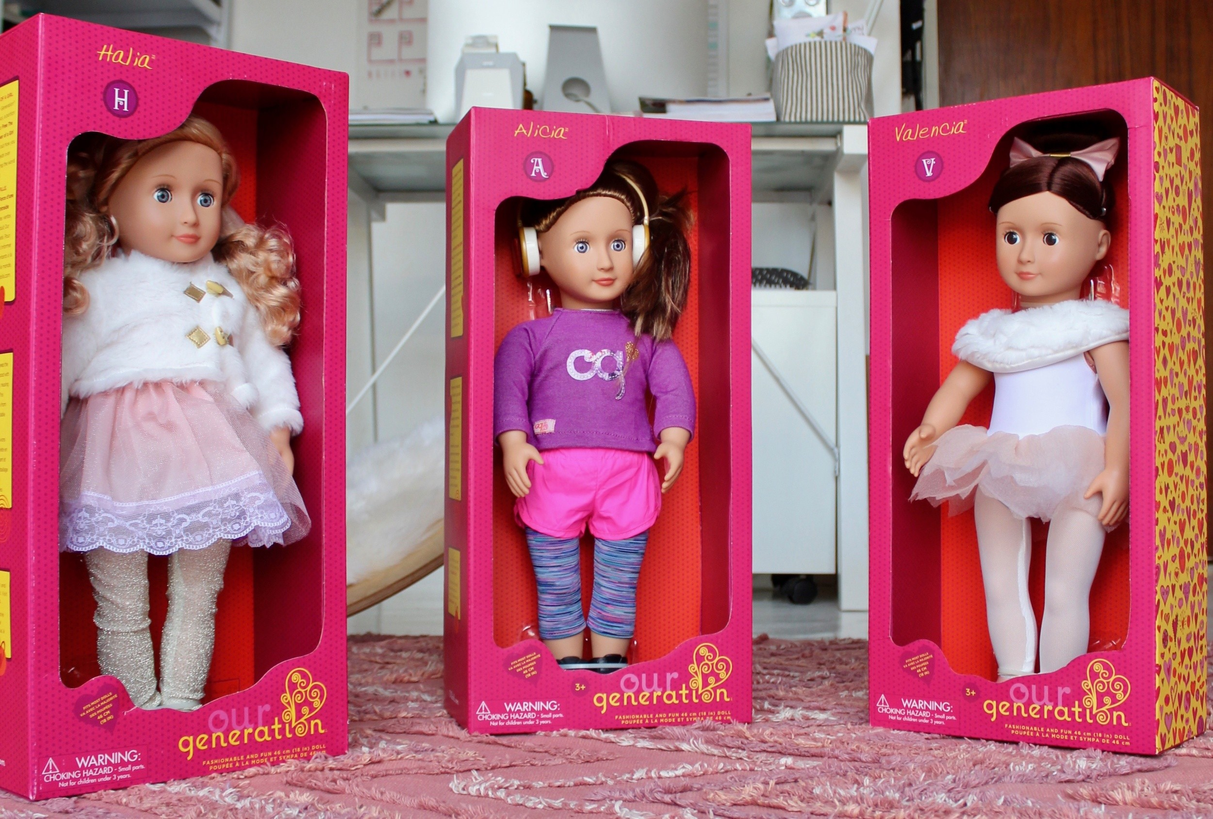 Encouraging imaginative play with Our Generation Dolls