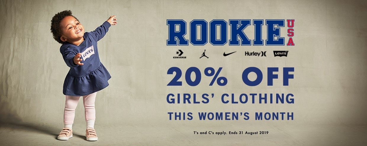 20 Off Rookie Usa In August 2019