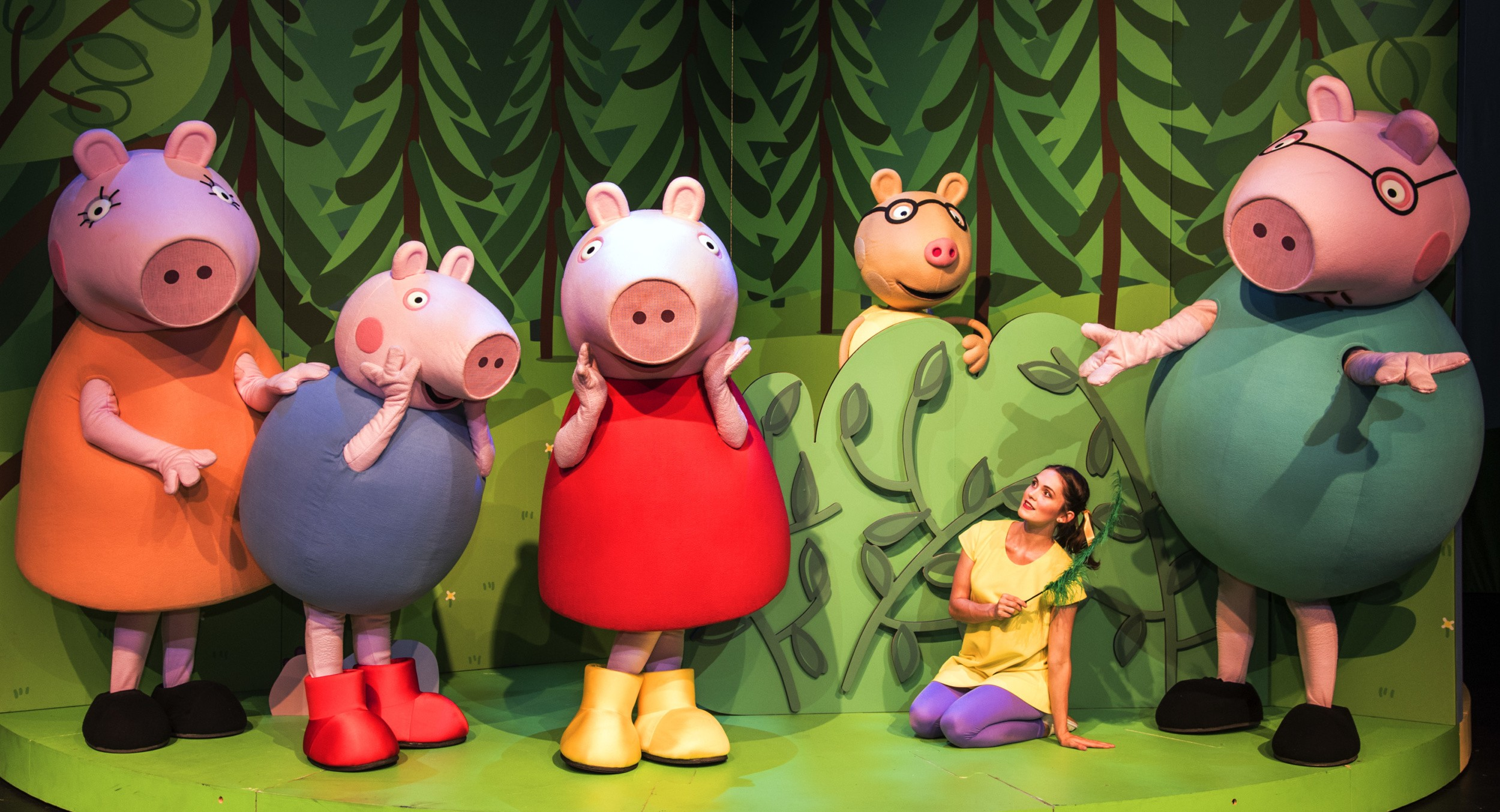 See Peppa Pig LIVE in South Africa