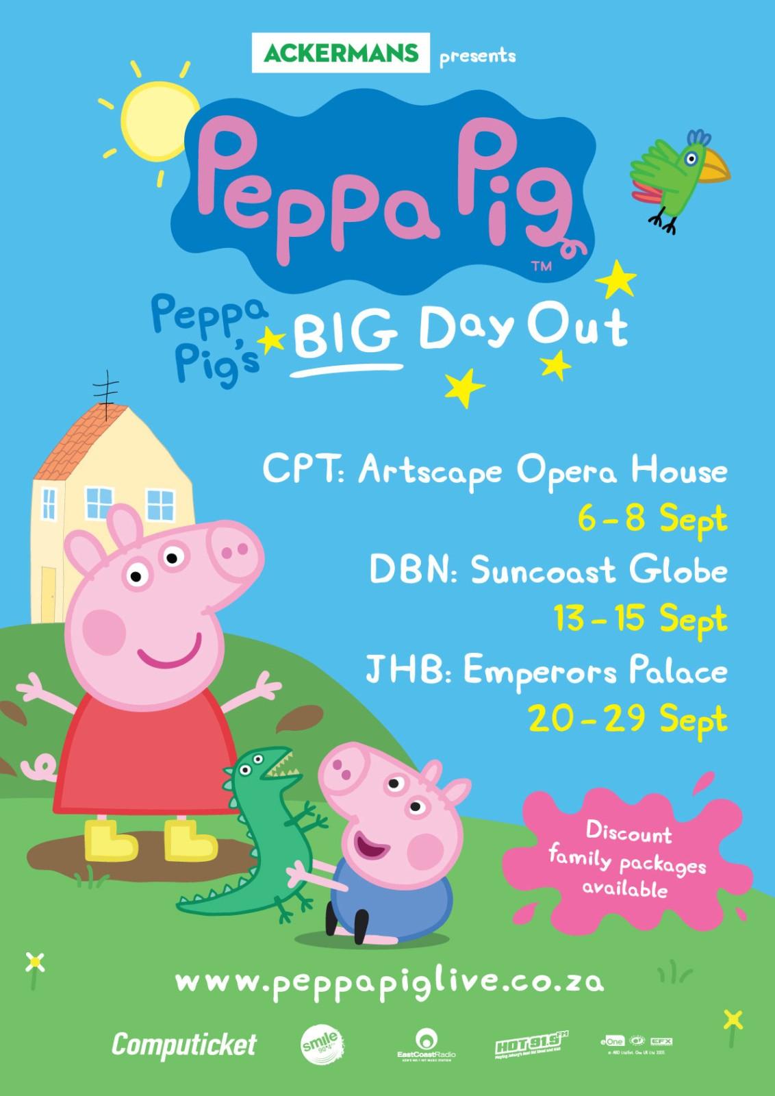 Peppa Pig Live In Sa 2019