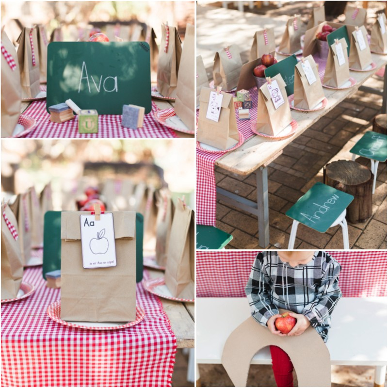 Back To School Party Decor