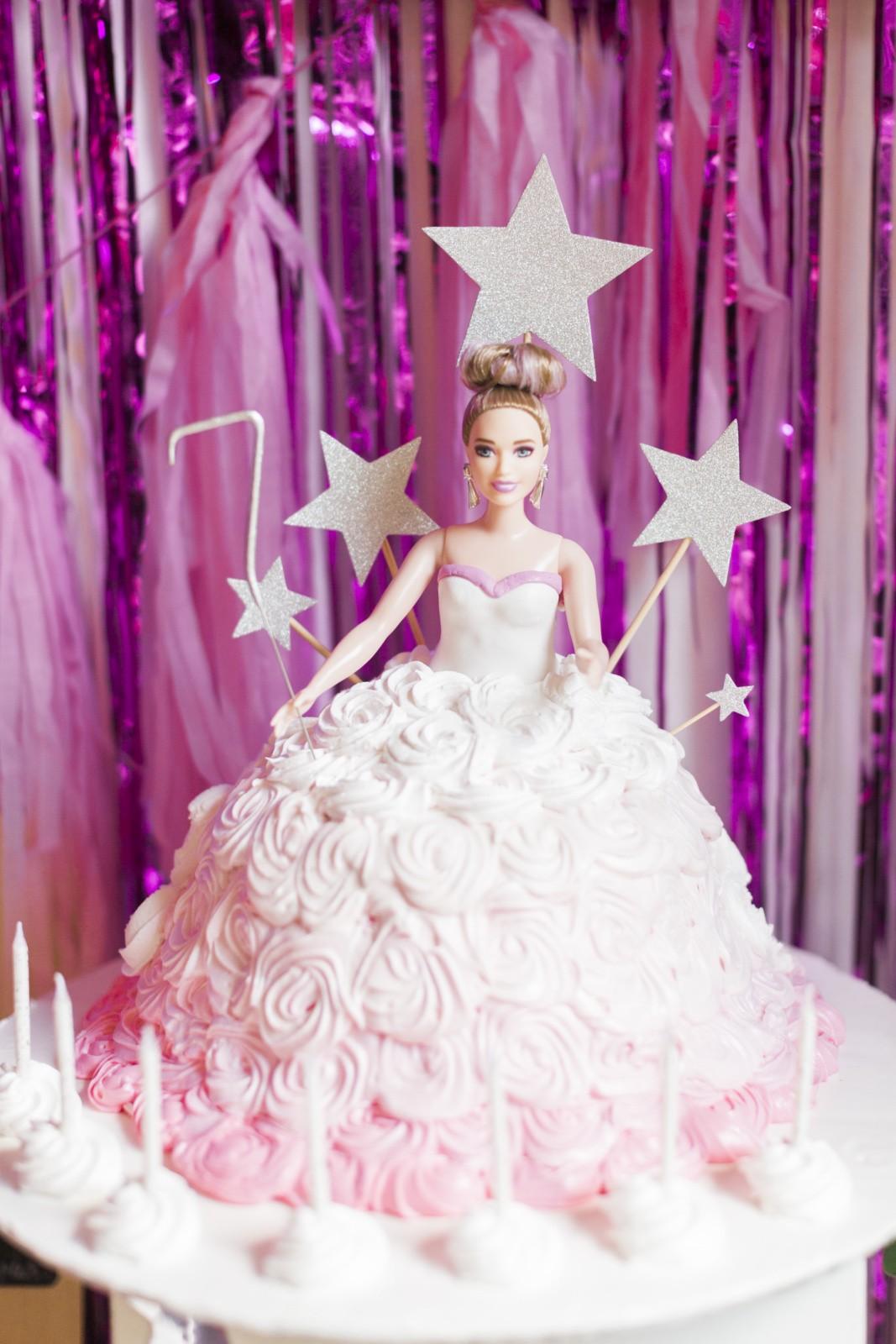 Barbie Birthday Party Cake