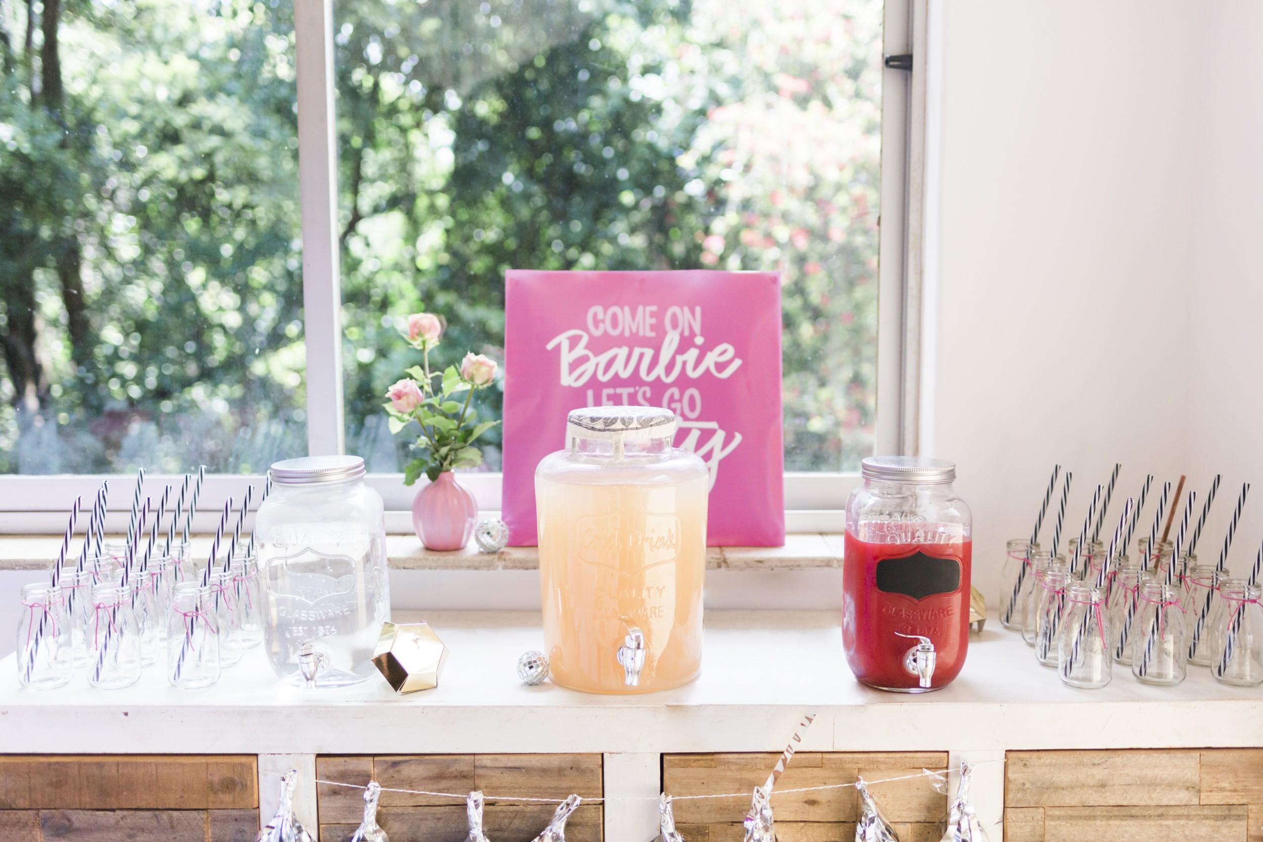 Barbie Birthday Party Pink Lemonade