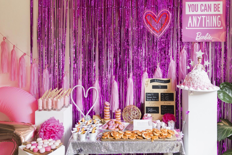 Barbie Birthday Party Food 2