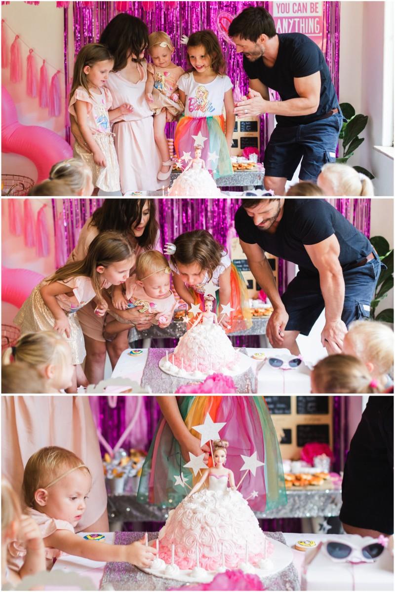 Best Barbie Birthday Party Cake