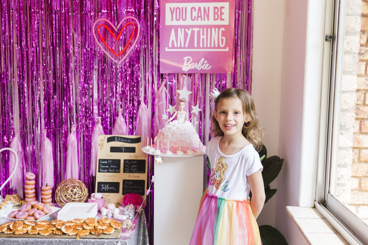 How to host the prettiest, PINK Barbie birthday party!