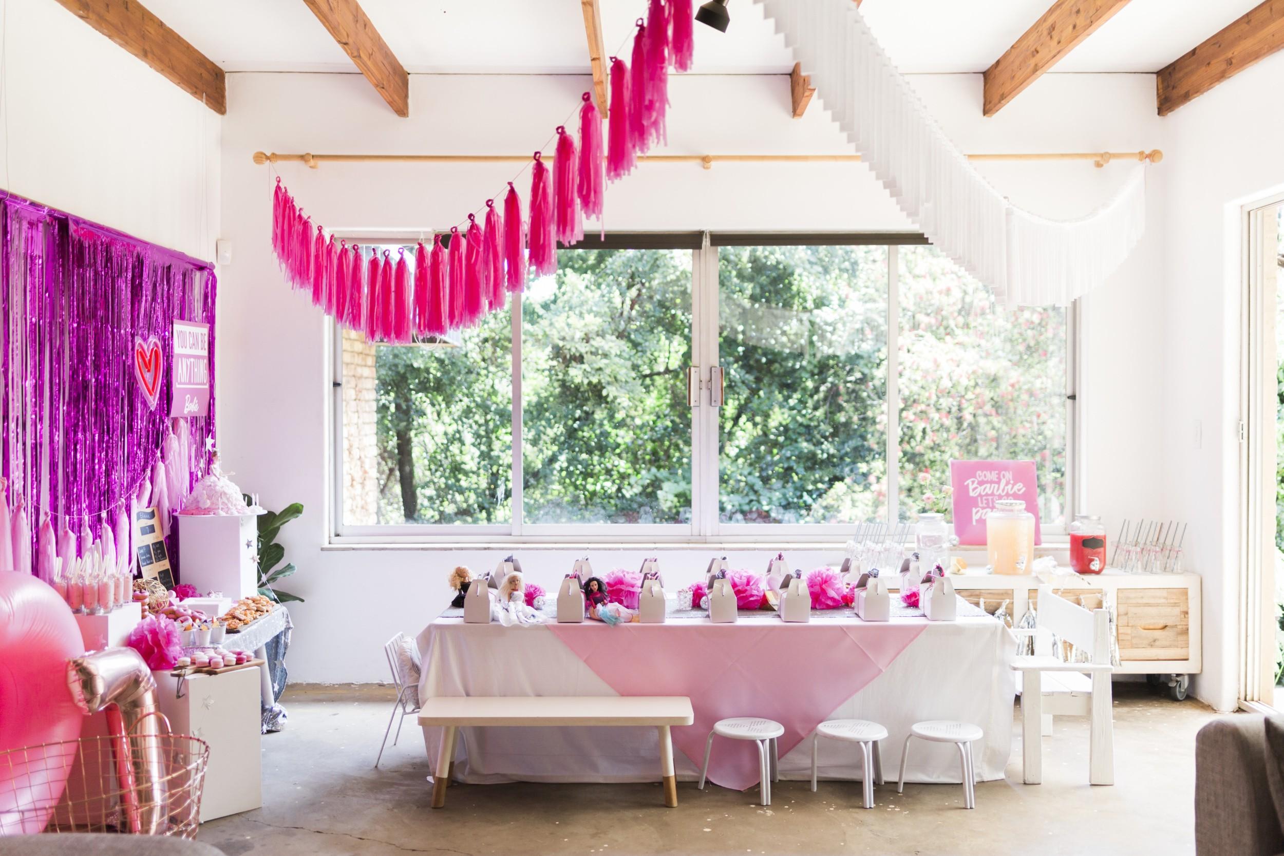Diy Barbie Birthday Party