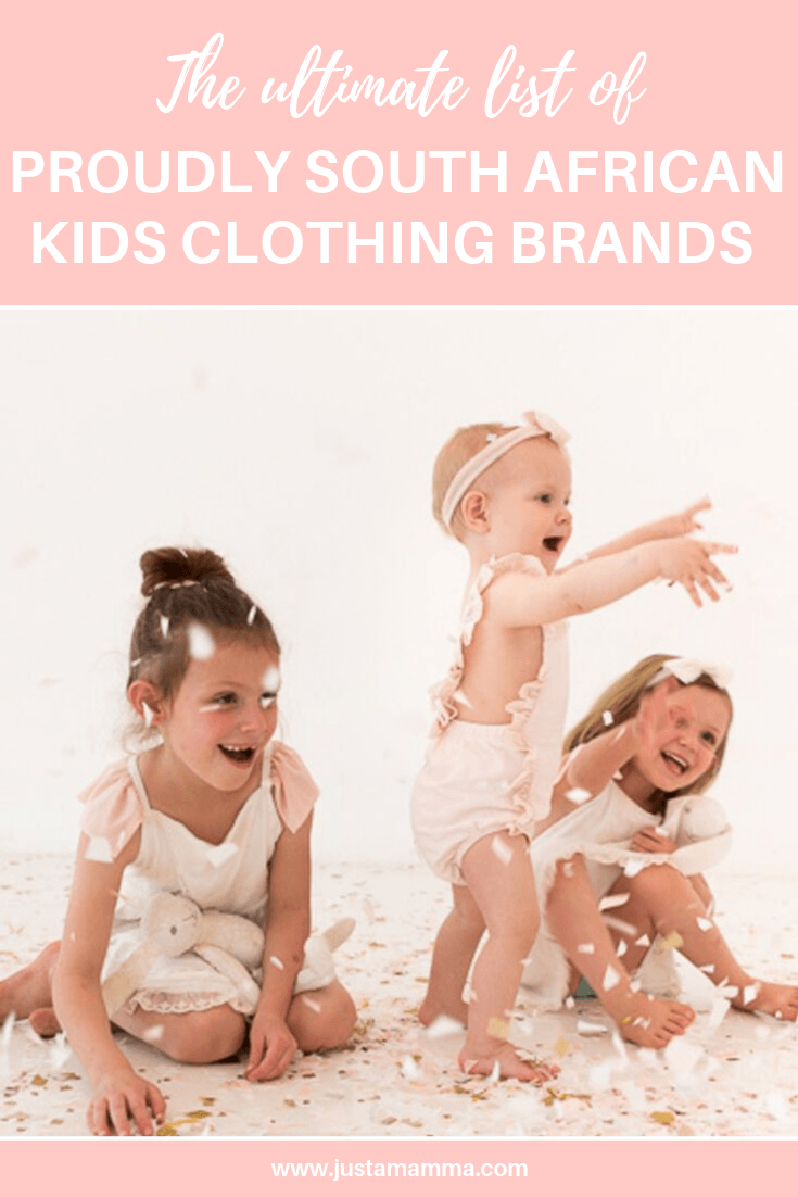 The Ultimate List Of Proudly South African Clothing Brands For Kids