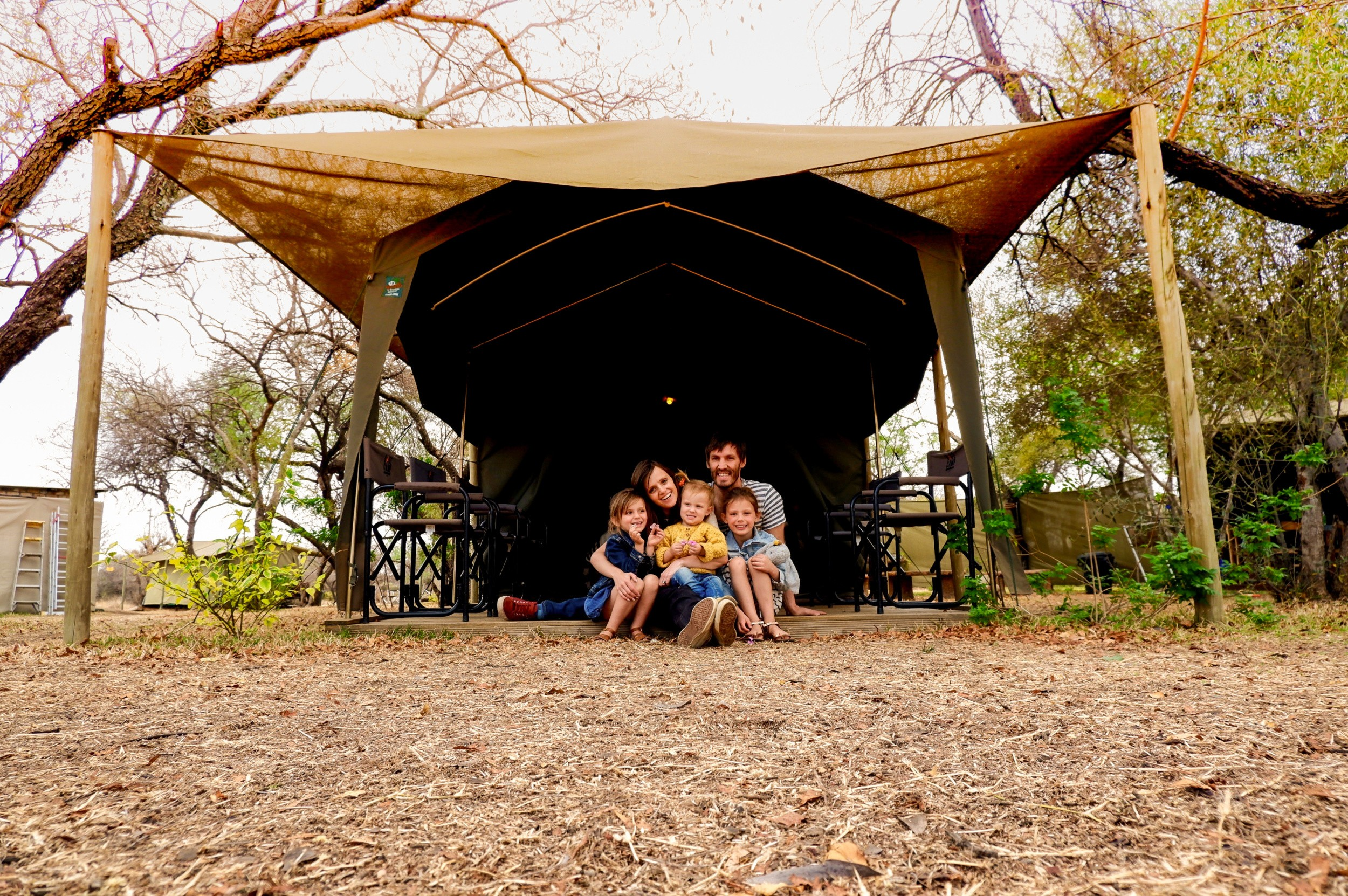"Mini-Break | Family ""glamping"" in Dinokeng Nature Reserve"