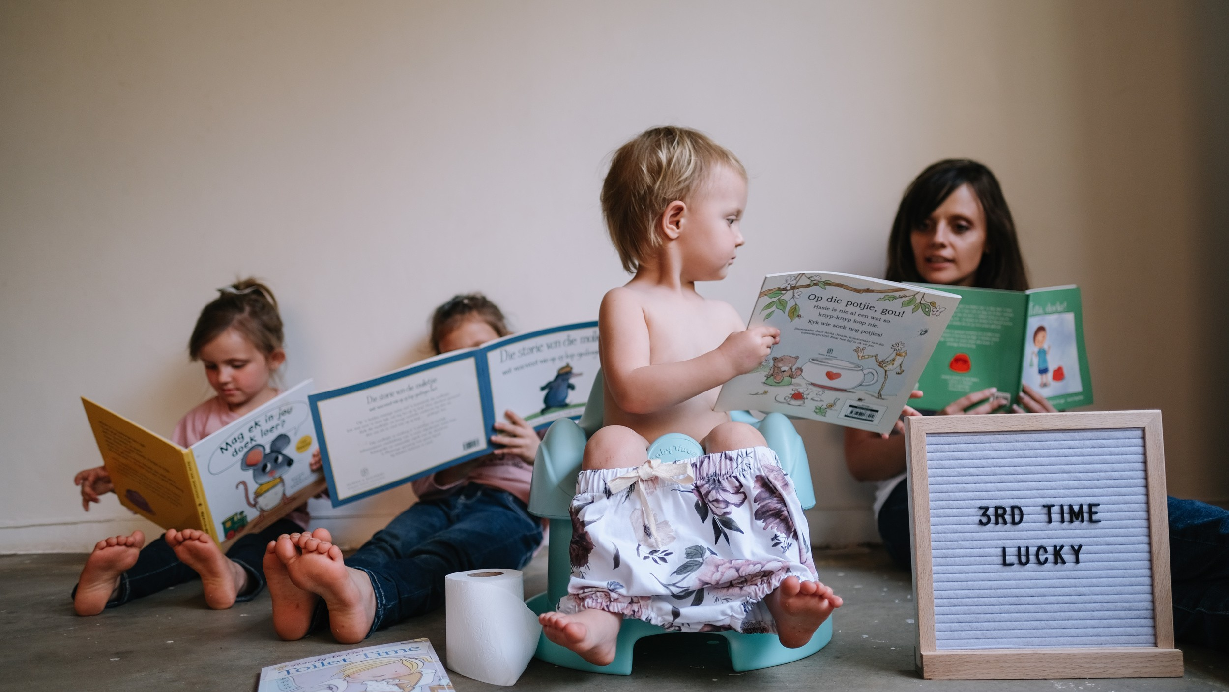 Potty Training with ease: Tips from a mother of 3